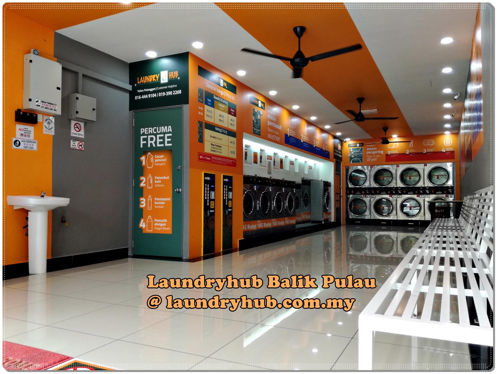 Laundryhub Balik Pulau